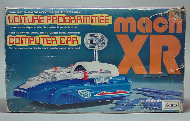 mach XR - Bandai (1975) BOX