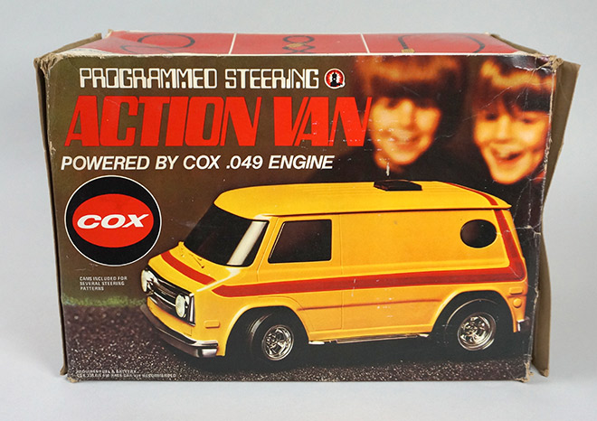 Action Van - Cox (1976) BOX