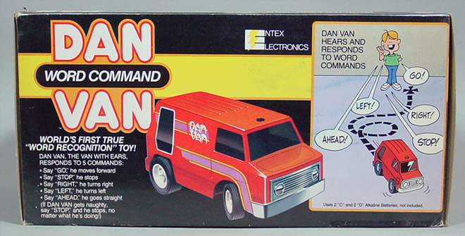 Dan Van Word Command - Entex (1979) BOX