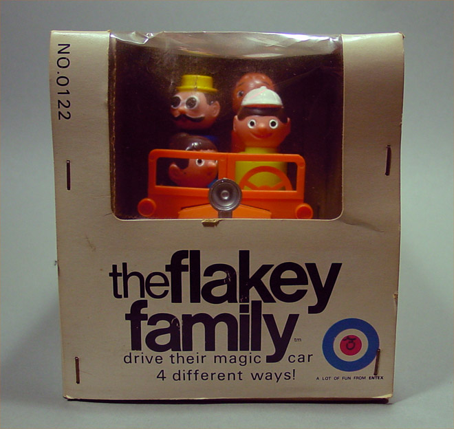 The Flakey Family - Entex (1971) BOX