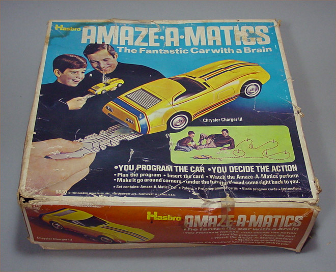 Chrysler Charger III - Hasbro (1969) BOX