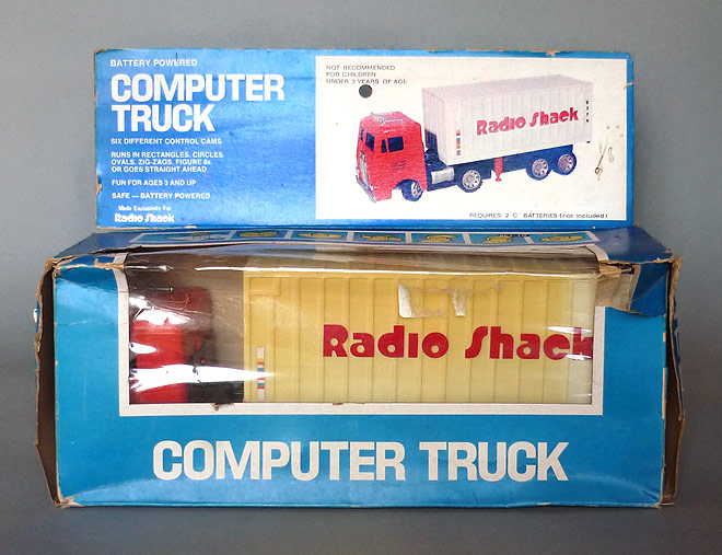 Computer Truck - Radio Shack () BOX