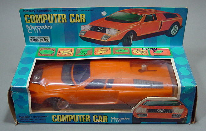 Mercedes C111 - Radio Shack () BOX