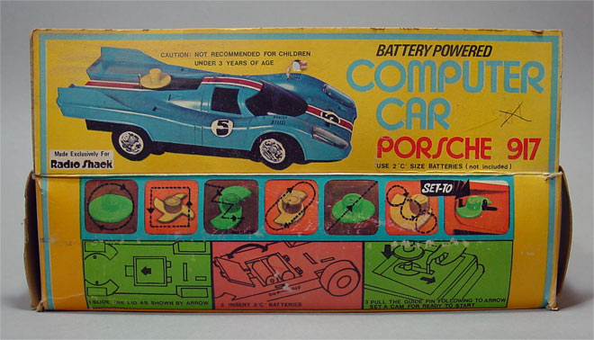 Porsche 917 - Radio Shack () BOX